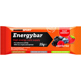 NAMEDSPORT Energy Bar Box 12 x 35g Wild Berries